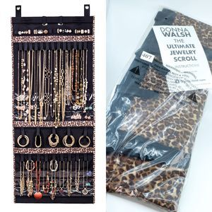 NWT Donna Walsh Ultimate Jewelry Scroll Leopard